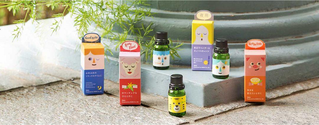 香りで暮らしをもっと豊かに アロマ関連商品 取扱い開始!